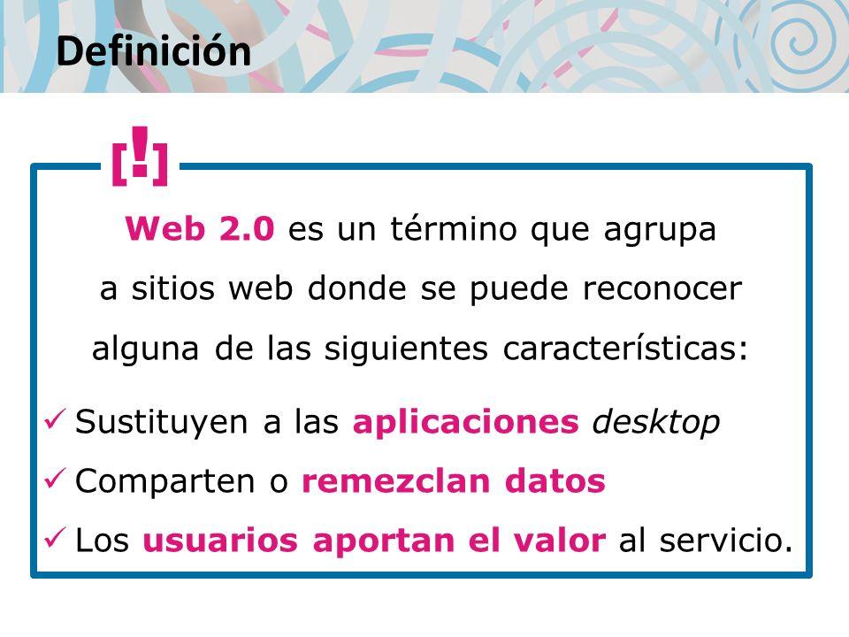 Definición [!] Sustituyen a las aplicaciones desktop